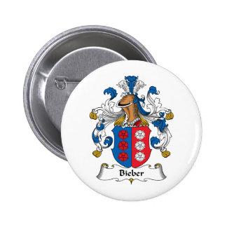 Escudo de la familia de Bieber Pin