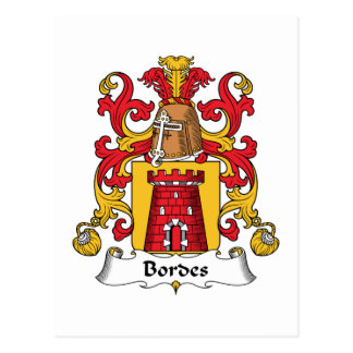 Escudo de la familia de Bordes Postales