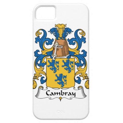 Escudo de la familia de Cambray iPhone 5 Case-Mate Cárcasas