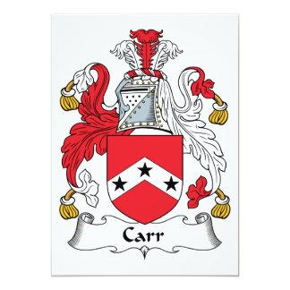 Escudo de la familia de Carr Anuncio