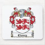 Escudo de la familia de Clancy Alfombrillas De Ratón