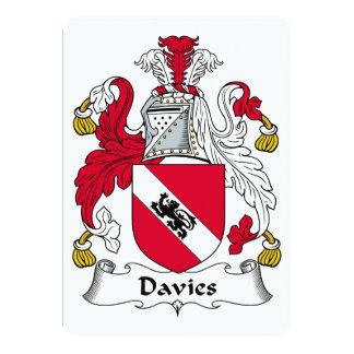 Escudo de la familia de Davies Comunicado