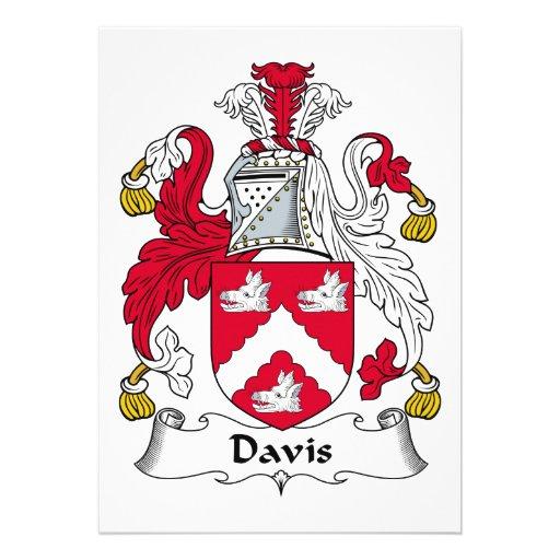 Escudo de la familia de Davis Anuncio
