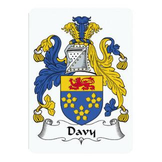 Escudo de la familia de Davy Comunicado