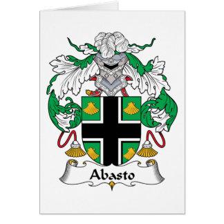 Escudo de la familia de Delfin Tarjeta De Felicitación