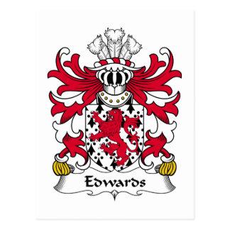 Escudo de la familia de Edwards Postal