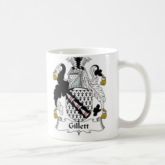 Escudo de la familia de Gillett Taza De Café