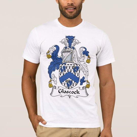 Escudo de la familia de Glascock Camiseta