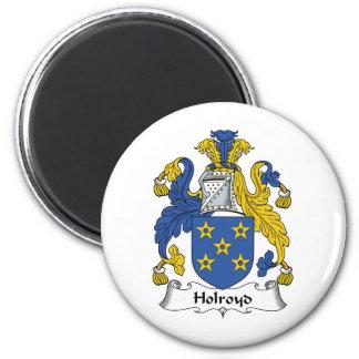 Escudo de la familia de Holroyd Imanes