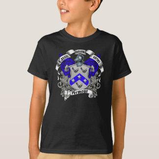 Escudo de la familia de la armadura camiseta