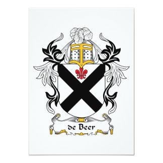 Escudo de la familia de la cerveza anuncio