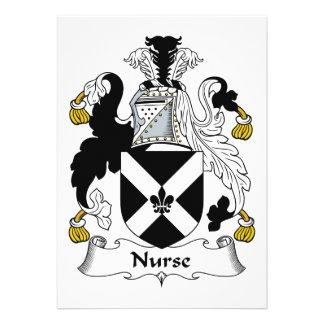 Escudo de la familia de la enfermera comunicados