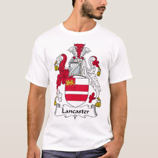 Escudo de la familia de Lancaster Camiseta