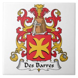 Escudo de la familia de las barras del DES Azulejos Cerámicos