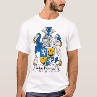 Escudo de la familia de MacDougall Camiseta