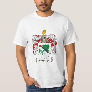 Escudo de la familia de Macgregor - escudo de Camisetas