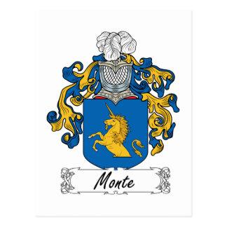 Escudo de la familia de Monte Postal