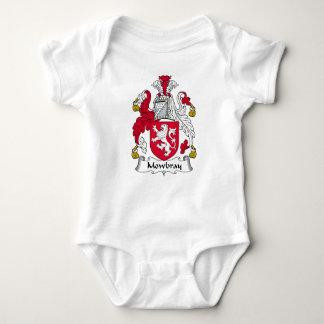 Escudo de la familia de Mowbray Body Para Bebé