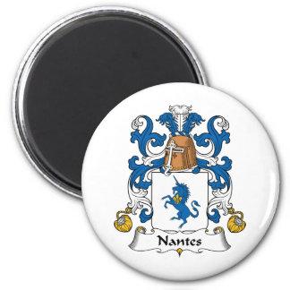 Escudo de la familia de Nantes Imanes
