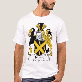 Escudo de la familia de Nunn Camiseta