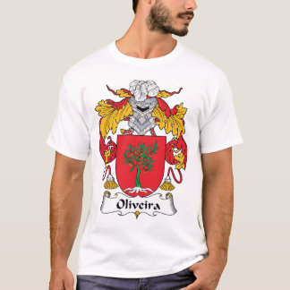 Escudo de la familia de Oliveira Camiseta