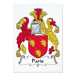 Escudo de la familia de París Anuncio