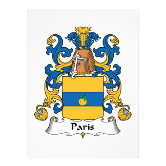 Escudo de la familia de París Anuncios Personalizados