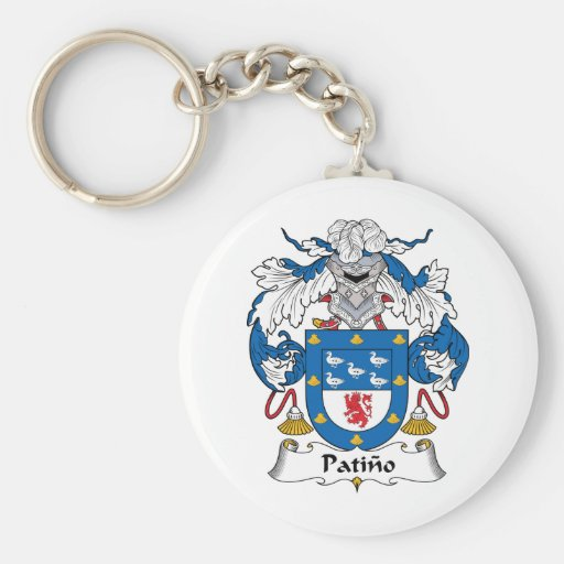 Escudo de la familia de Patino Llavero