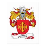 Escudo de la familia de Pérez Postal