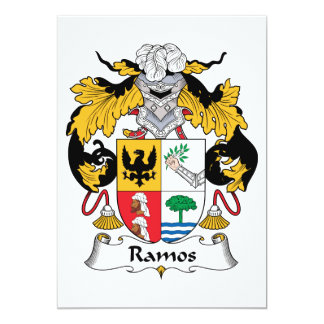 Escudo de la familia de Ramos Anuncio