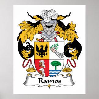 Escudo de la familia de Ramos Póster