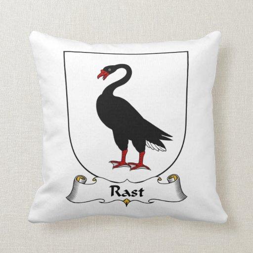 Escudo de la familia de Rast Almohadas