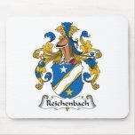 Escudo de la familia de Reichenbach Tapete De Raton