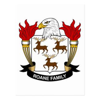 Escudo de la familia de Roane Postal