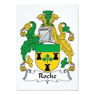 Escudo de la familia de Rocke Anuncios Personalizados