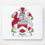 Escudo de la familia de Sears Alfombrillas De Raton