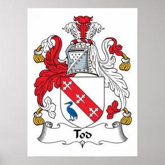 Escudo de la familia de Tod Poster