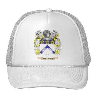 Escudo de la familia de Tommis (escudo de armas) Gorros