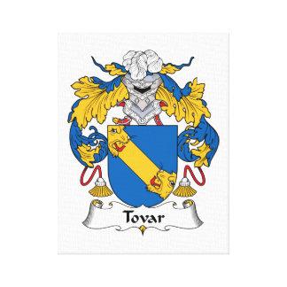Escudo de la familia de Tovar Impresión En Lona