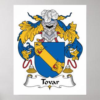Escudo de la familia de Tovar Posters