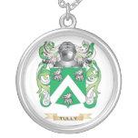 Escudo de la familia de Tully (escudo de armas) Collares Personalizados