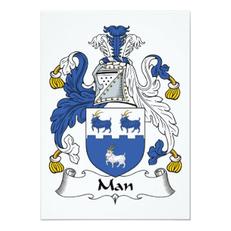 Escudo de la familia del hombre anuncios personalizados
