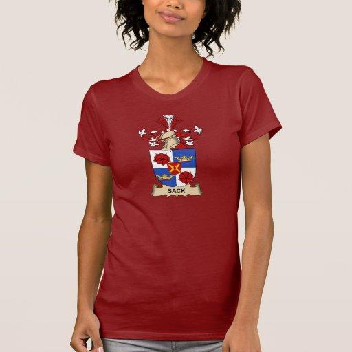 Escudo de la familia del saco camisetas