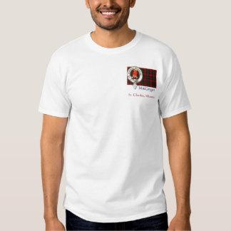 Escudo de MacGregor, St Charles, Missouri Camisetas