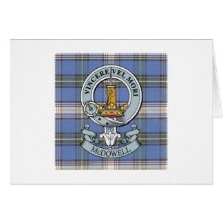 Escudo de McDowell + Tarjeta de felicitación del