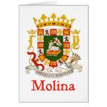Escudo de Molina de Puerto Rico Felicitaciones