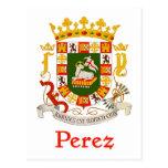 Escudo de Pérez de Puerto Rico Postales