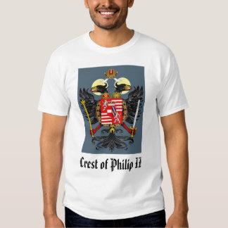 Escudo de Phillip II, escudo de Philip II Camisetas