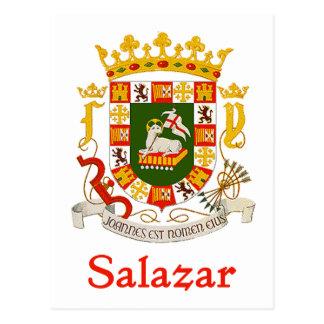 Escudo de Salazar de Puerto Rico Postal