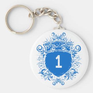 Escudo del azul #1 llavero
